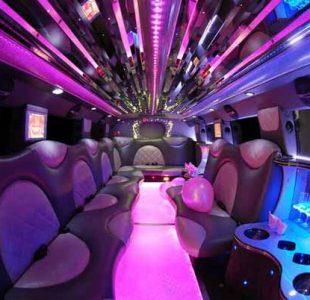 Cadillac Escalade Limo Interior New Jersey