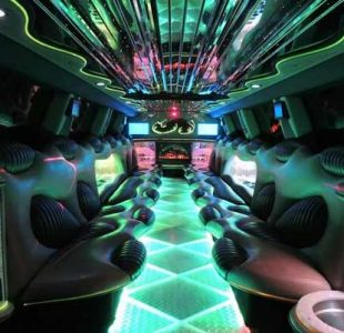 Hummer Limo Interior New Jersey